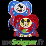 Dodie Disney Sucette anatomique silicone +6mois Mickey Lot/2 à Paris